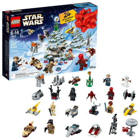 Lego Star Wars 2018 24 Day 307 Piece Kids Toy Advent Calendar Holiday Gift Set