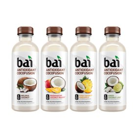 Bai Cocofusion Antioxidant Infused Beverage, Version II Variety Pack, 18 Fl Oz, 12 Count