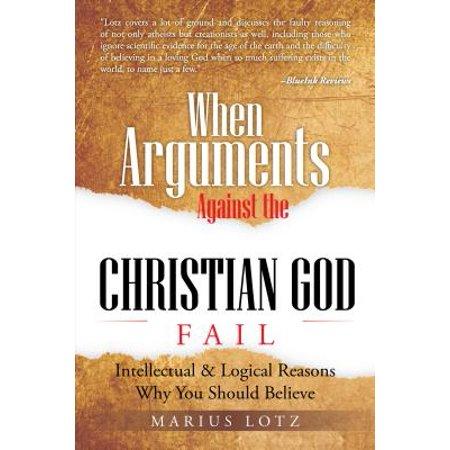 When Arguments Against the Christian God Fail - eBook - Christians Against Halloween
