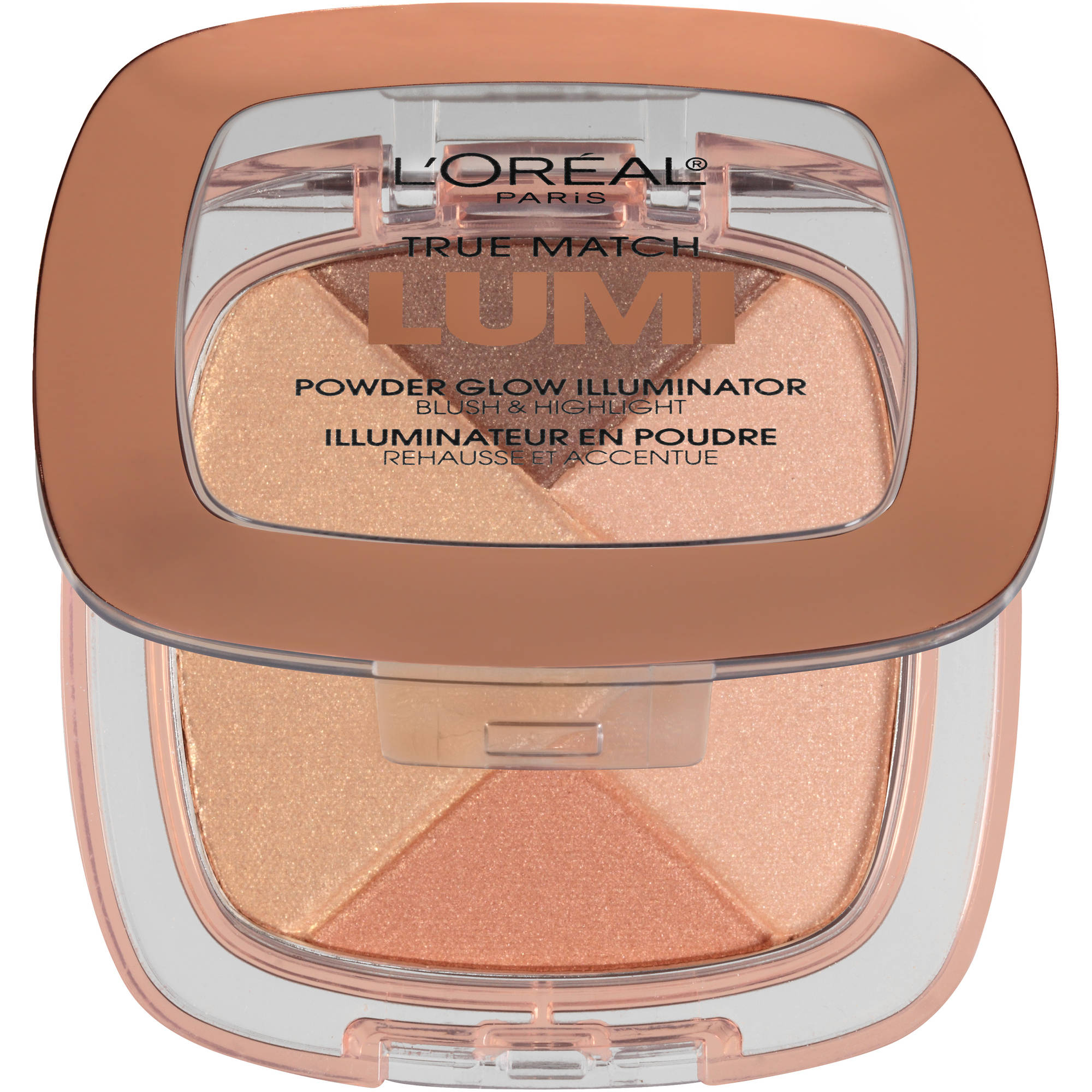 L'Oreal Paris True Match Lumi Powder Glow Illuminator, C302 Ice, 0.31 oz