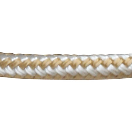 "Sea Dog Anchor, Line, Double Braided Nylon with Thimble, 3/8"" x 100"