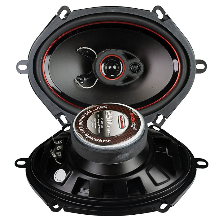 2pc 5x7 Inch 3 Way 250w Speaker For Car Stereo Sound Car Audio Speakers Pp Cone