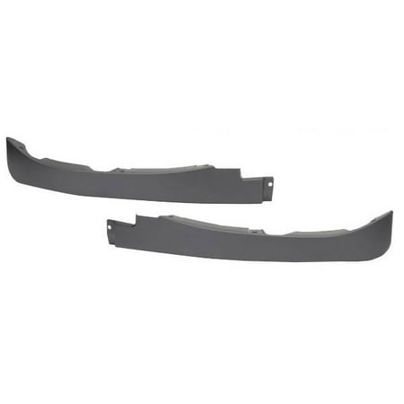 C6 Corvette Front Spoiler / Air Dam - LEFT AND RIGHT PIECES ONLY