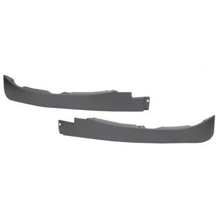 Hd Air Dam - C6 Corvette Front Spoiler / Air Dam - LEFT AND RIGHT PIECES ONLY
