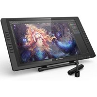XP-PEN Artist22E Pro 21.5 Inch Drawing Pen Display Graphic Monitor IPS Monitor Drawing Pen Tablet Dual Monitor with 16 Express Keys and Adjustable Stand  8192 Level Pen Pressure