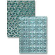 Spellbinders M-Bossabilities A4 Card Embossing Folder-Patchwork
