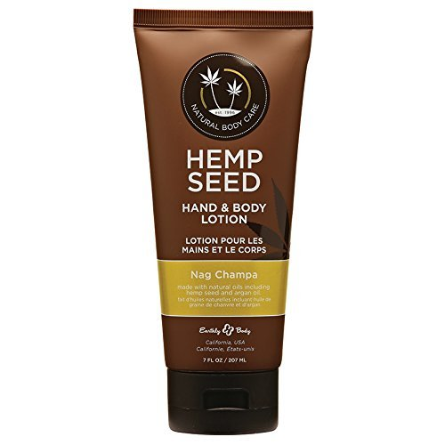 Earthly Body Hand and Body Lotion, Nag Champa, 8 Ounce