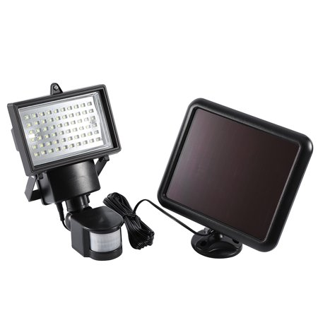 60 Led Solar Power Motion Sensor Outdoor Garden Security LED Flood Light Lamp,Night Lamp, Sensor Night Lamp