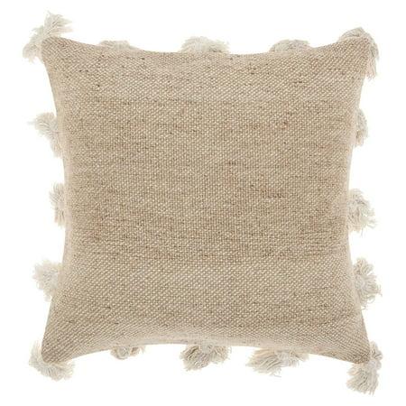 Nourison Life Styles Tassel Border Decorative Throw Pillow, 18