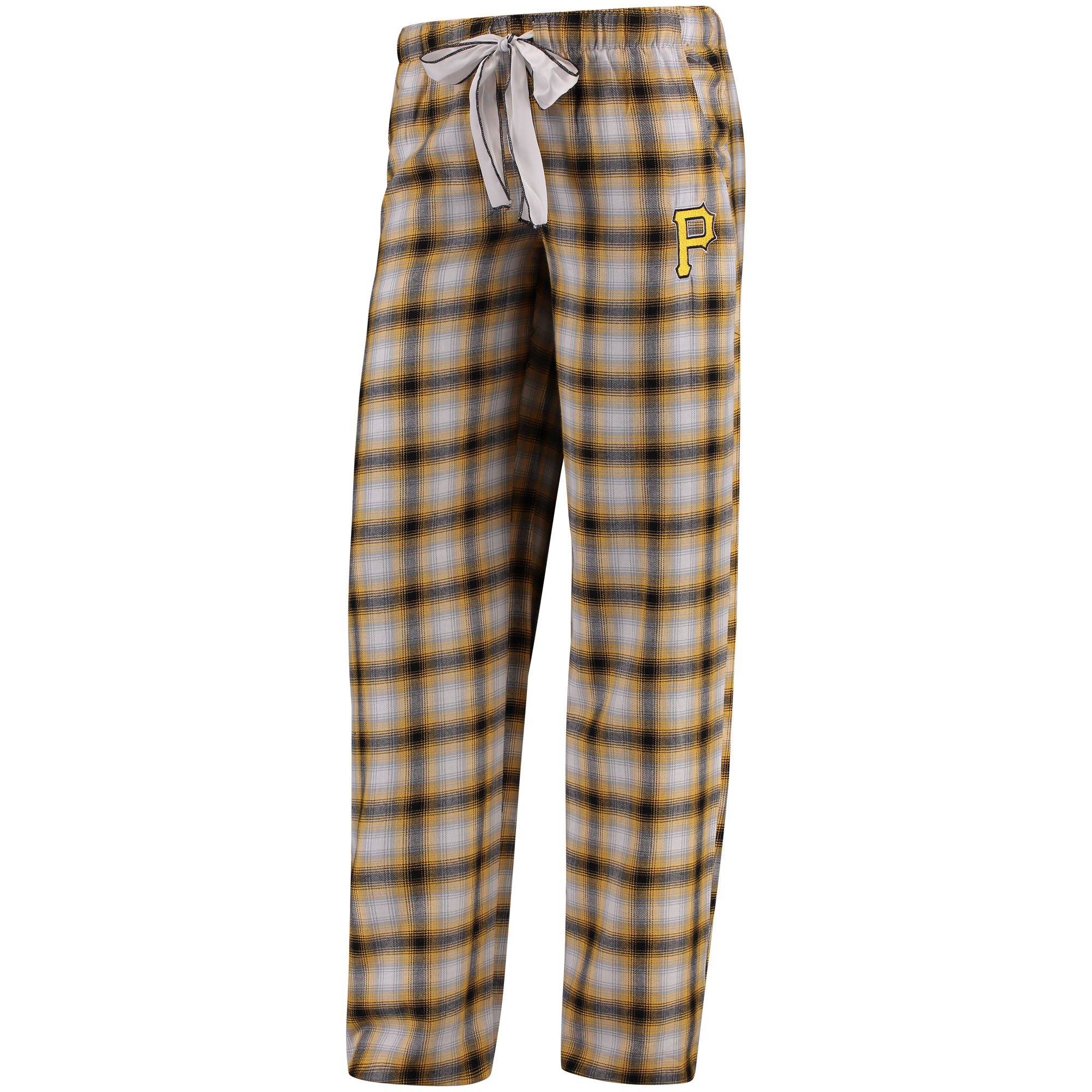 Pittsburgh Pirates Concepts Sport Women's Forge Flannel Pants - Black