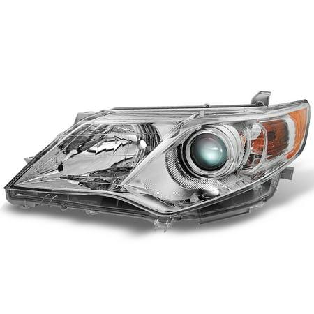 Fits 12-14 Camry L LE XLE Hybrid Projector Headlight Driver Left Side Set Camry Le Xle Headlamp Headlight