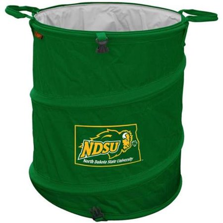 North dakota state bison ncaa collapsible trash can - Collapsible trash can ...