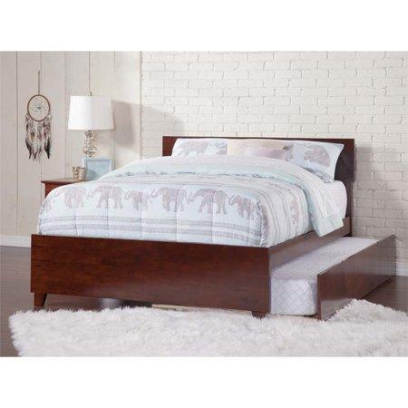 Atlantic Furniture Orlando Urban Full Trundle Platform Bed in Walnut - image 3 of 3