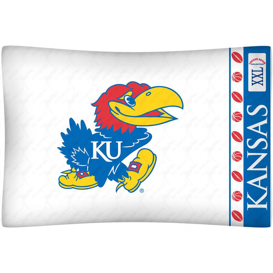 NCAA University of Kansas Micro Fiber Pillow Case