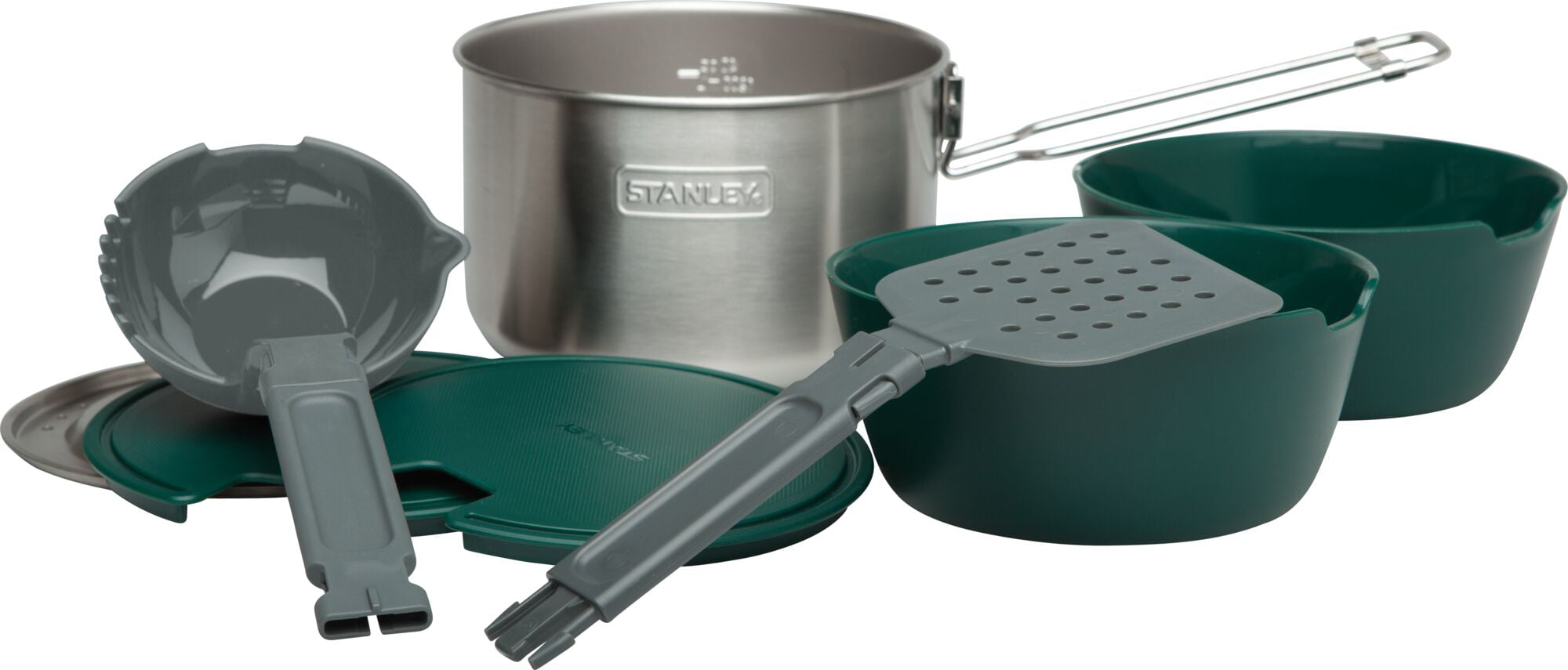 Stanley 1.5L Adventure All-In-One Two Bowl Cook Set Stainless Steel