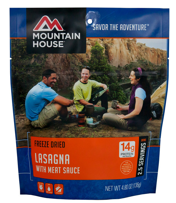 Mountain House Lasagna with Meat Sauce by Mountain House