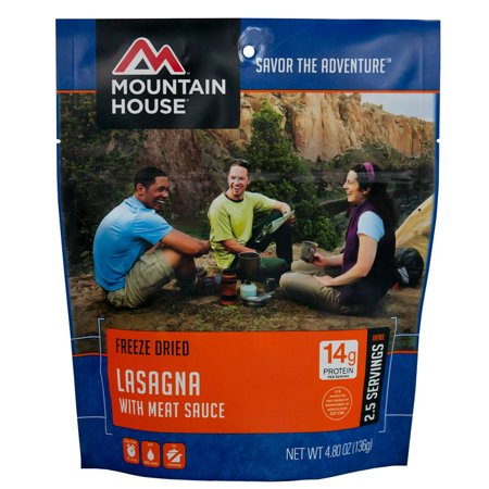 Mountain House Lasagna with Meat Sauce - Freeze Dried Meals
