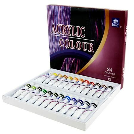 Oil Paint Set,24 Colors Non-toxic Artist Oil Paints Professional Acrylic