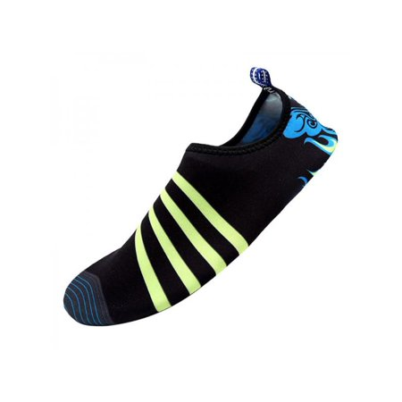 Topumt Adult Skin Shoes Water Wet Shoes Surf Sport Sock Pool Beach Swim Slip On Surf Aqua-Diving