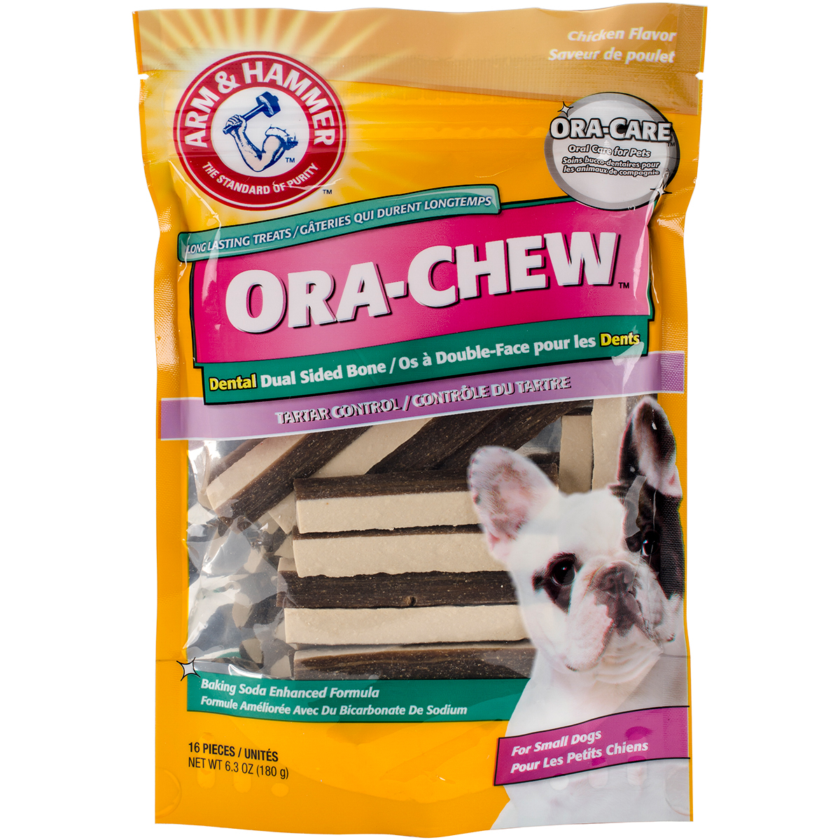 Arm & Hammer Dual-Sided Bone Treat-Small Dog