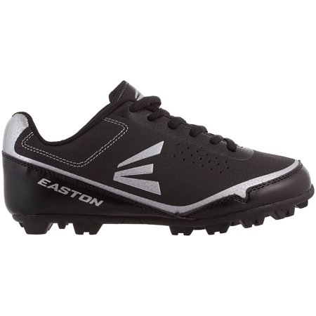 Easton Kids' Speed Elite RM Baseball Cleats (Black/Grey, 2.5) ()