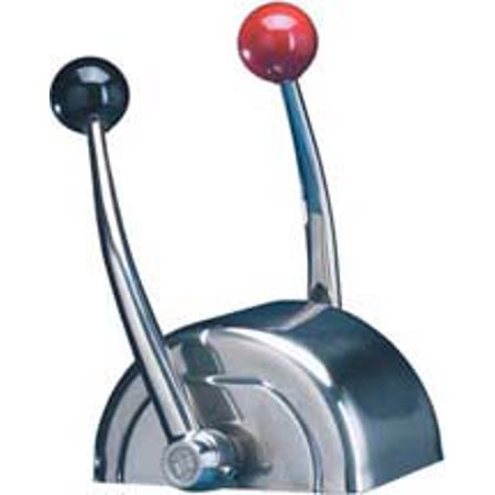 SeaStar CH5600P Domed Chrome Dual Lever Single Function Control