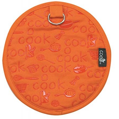 Kay Dee Designs Cook Collection Silicone Potholder, Orange