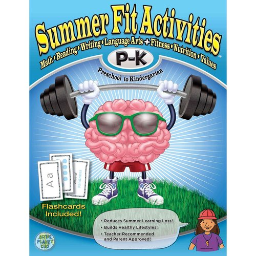 Image of Summer Fit - Preschool to Kindergarten: Math, Reading, Writing, Language Arts + Fitness, Nutrition and Values