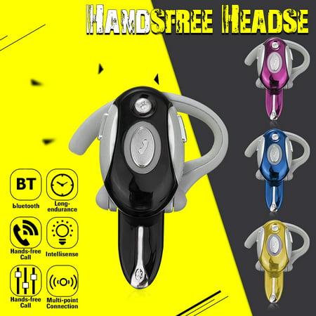 Business Earphone Wireless Headset MotorolaHeadset 2.1 Waterproof Headphones Earpieces Earhook Stereo Earphone Headset For Smart