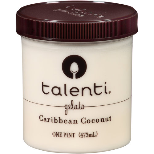 Talenti Caribbean Coconut Gelato, 1 pt - Walmart.com