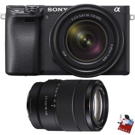 Sony Alpha a6400 Mirrorless Digital Camera with 18-135mm Lens Combo (Sony Camera Qx)