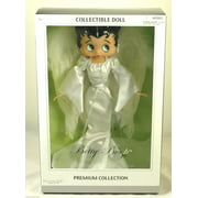 Betty Boop Premium Angel Betty   Doll  w/ Doll Stand, New Gift Cartoon TV By Precious Kids 31184 Bendable leg