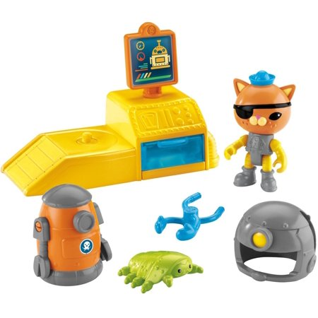 Fisher-Price Octonauts Kwazii Bot Station, Kwazii & the Octobot have discovered a new creature-an isopod! By FisherPrice Ship from US - Octonauts Characters Tweak