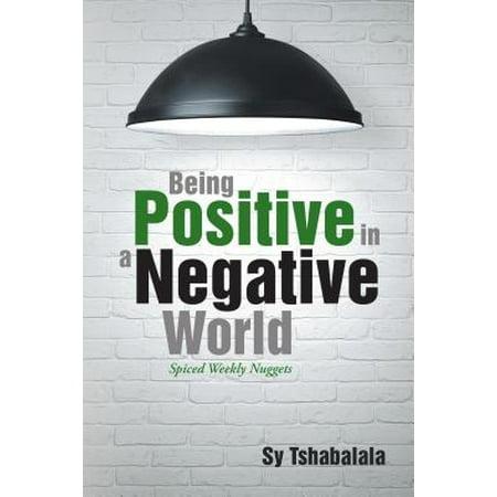Being Positive in a Negative World - eBook](Positive Negative Halloween Art)