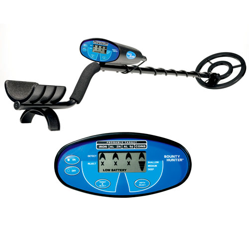 Bounty Hunter Quicksilver Metal Detector with LCD Display