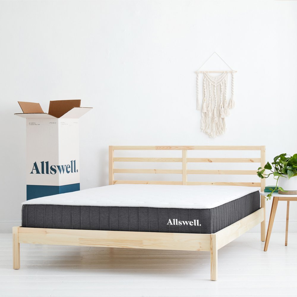 """The Allswell 10"""" Bed in a Box Hybrid Mattress, King"""