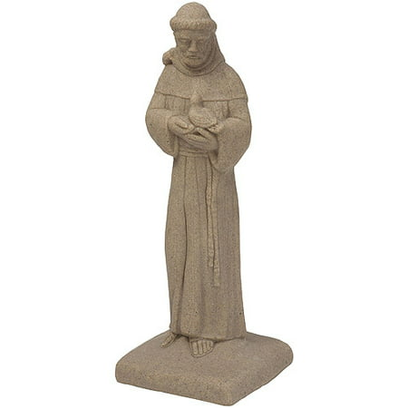 Emsco Group 2230 1 St  Francis Outdoor Statuary  Sand