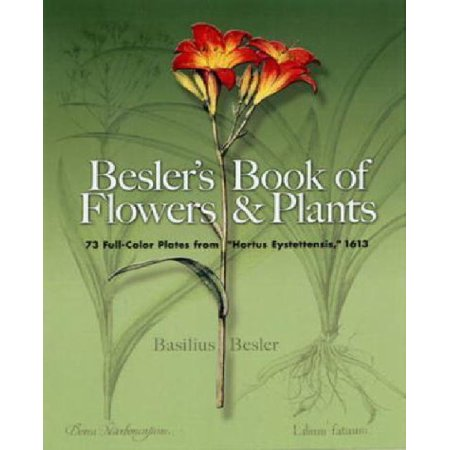 Besler's Book of Flowers and Plants: 73 Full-color Plates from