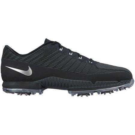 Nike Air Zoom Attack Golf Shoes  Black Metallic Silver  7