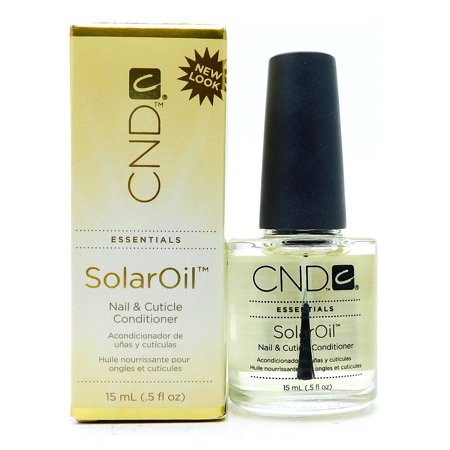 CND Solar Oil - Nail & Cuticle Conditioner - Size : 0.5 oz