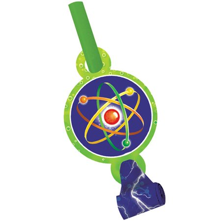 Mad Scientist Blowouts, 8pk - Mad Scientist Halloween Party Decorations