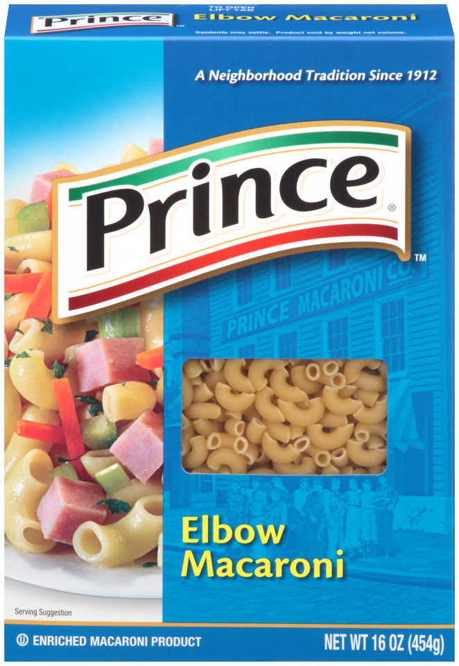 Prince Elbow Macaroni Pasta, 16-Ounce