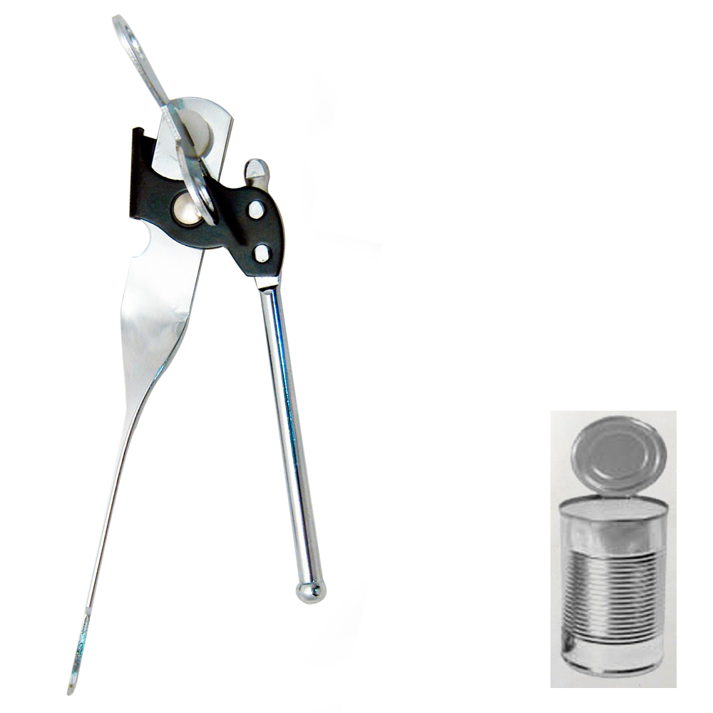 Kitchen Manual Can Opener Outdoor Picnic Jar Bottle Opener Side Cut Can OpenerWD
