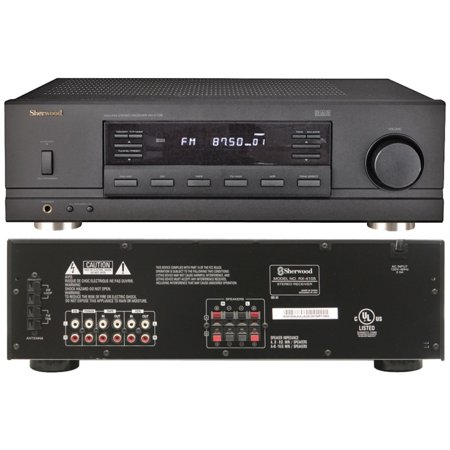 Sherwood RX-4105 2-Channel Remote-Controlled Stereo Receiver (New Open Box) by