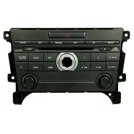 2007-09 Mazda CX-7 OEM Base AM FM Single Radio CD Player EG23 66 AR0 - Refurbished 66 Armrest Base