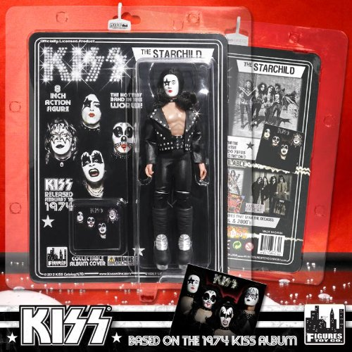 "Action Figures - Kiss #2 The Starchild 8"" Licensed Toys KISS822"