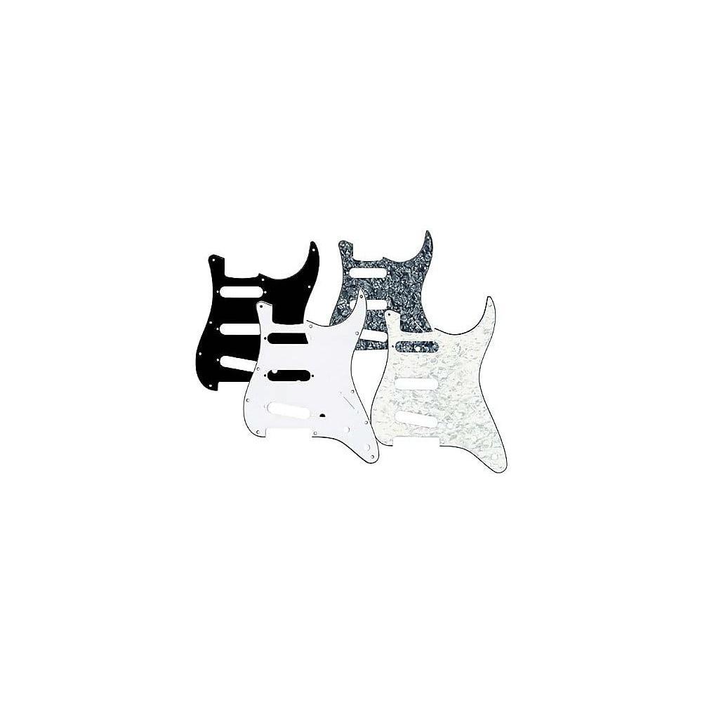 Musician's Gear 3 Single-Coil Pickguard Black Pearloid by Musician's Gear