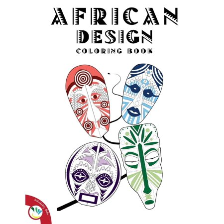 African Designs Coloring Book Paperback