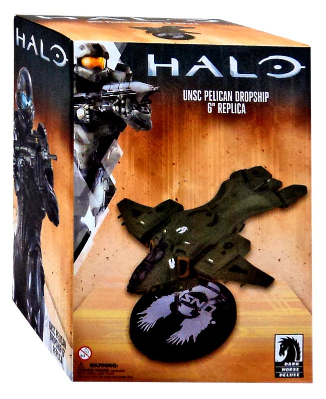 Dark Horse 6 Inch Halo UNSC Pelican Drop Ship Collectible Replica Statue /& Base