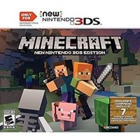 Minecraft: New Nintendo 3DS Edition - Nintendo 3DS, Minecraft is a game about placing blocks and going on adventures. Only playable on a New.., By by Nintendo